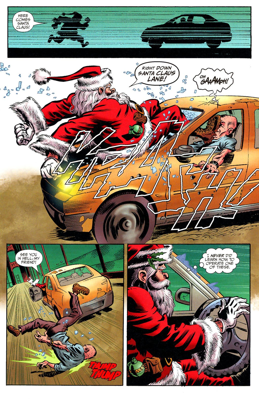 when you think about christmas and comics i hope that some of you are reminded of ultimate edit thor if so good news tomorrow night expect the next - The Last Christmas