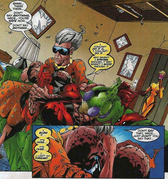 Lady Deadpool Unmasked...