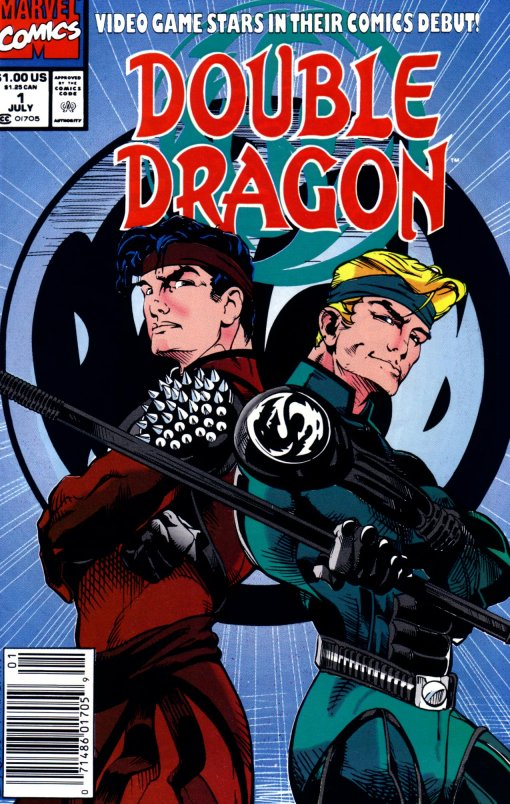 4thletter Blog Archive The Double Dragon Comic World War