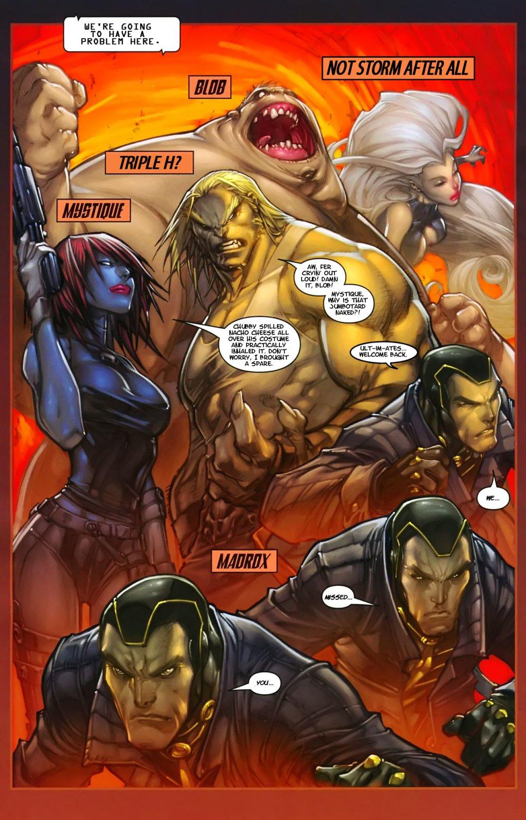 Iron man having sex