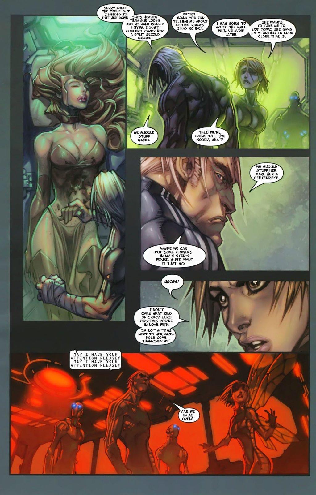 Ultimate Scarlet Witch Ultimates 3 Scarlet Wi...