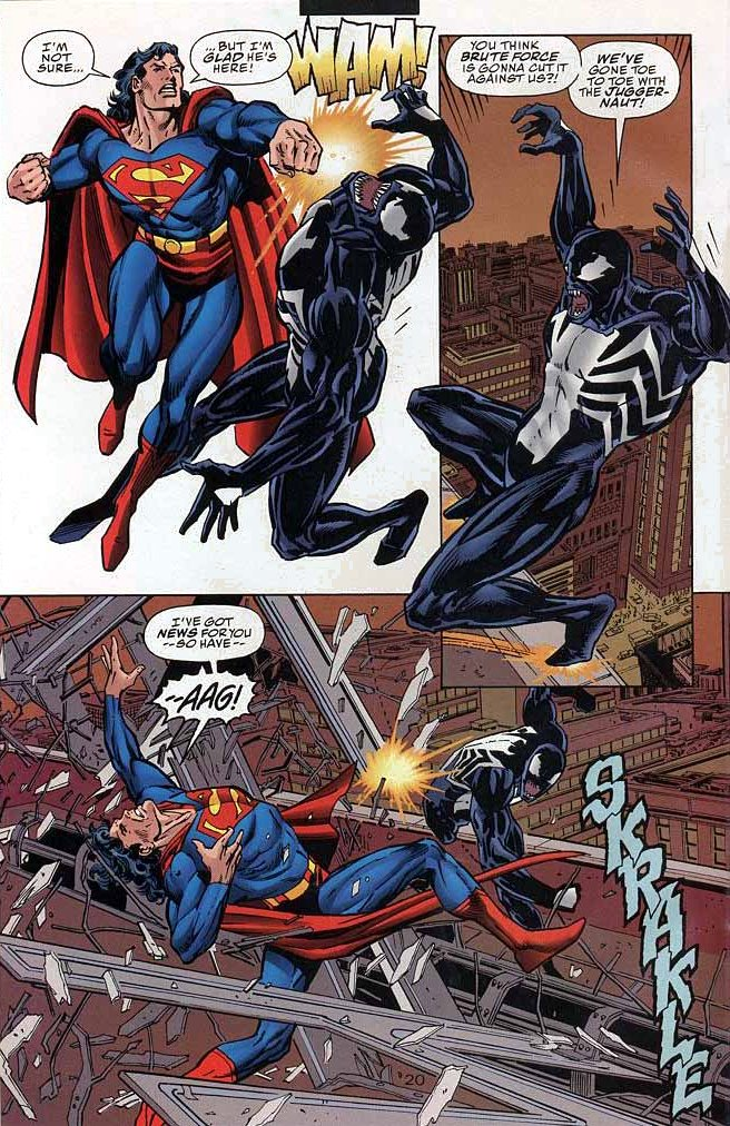 Me and superman got in a fight cadence