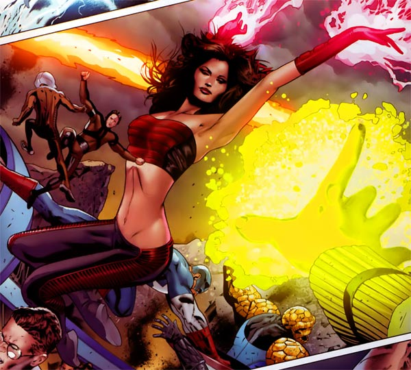 Ultimate Scarlet Witch 4thletter! » scar...