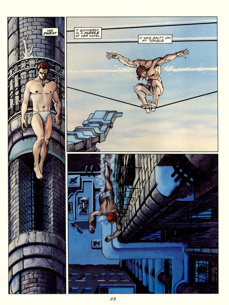 4thletter! » Blog Archive » Portfolio Review: Frank Miller