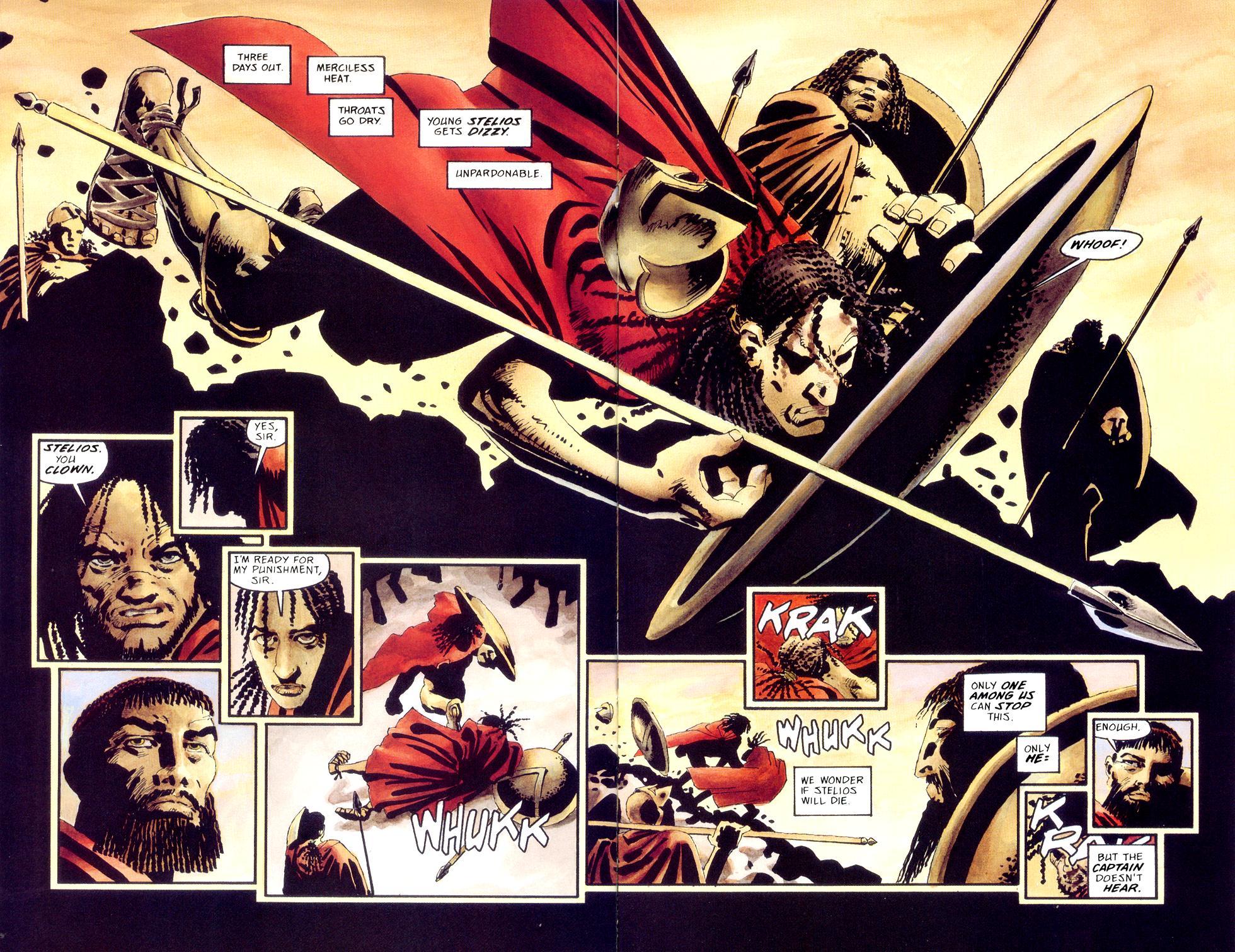 Xerxes 300 Comic