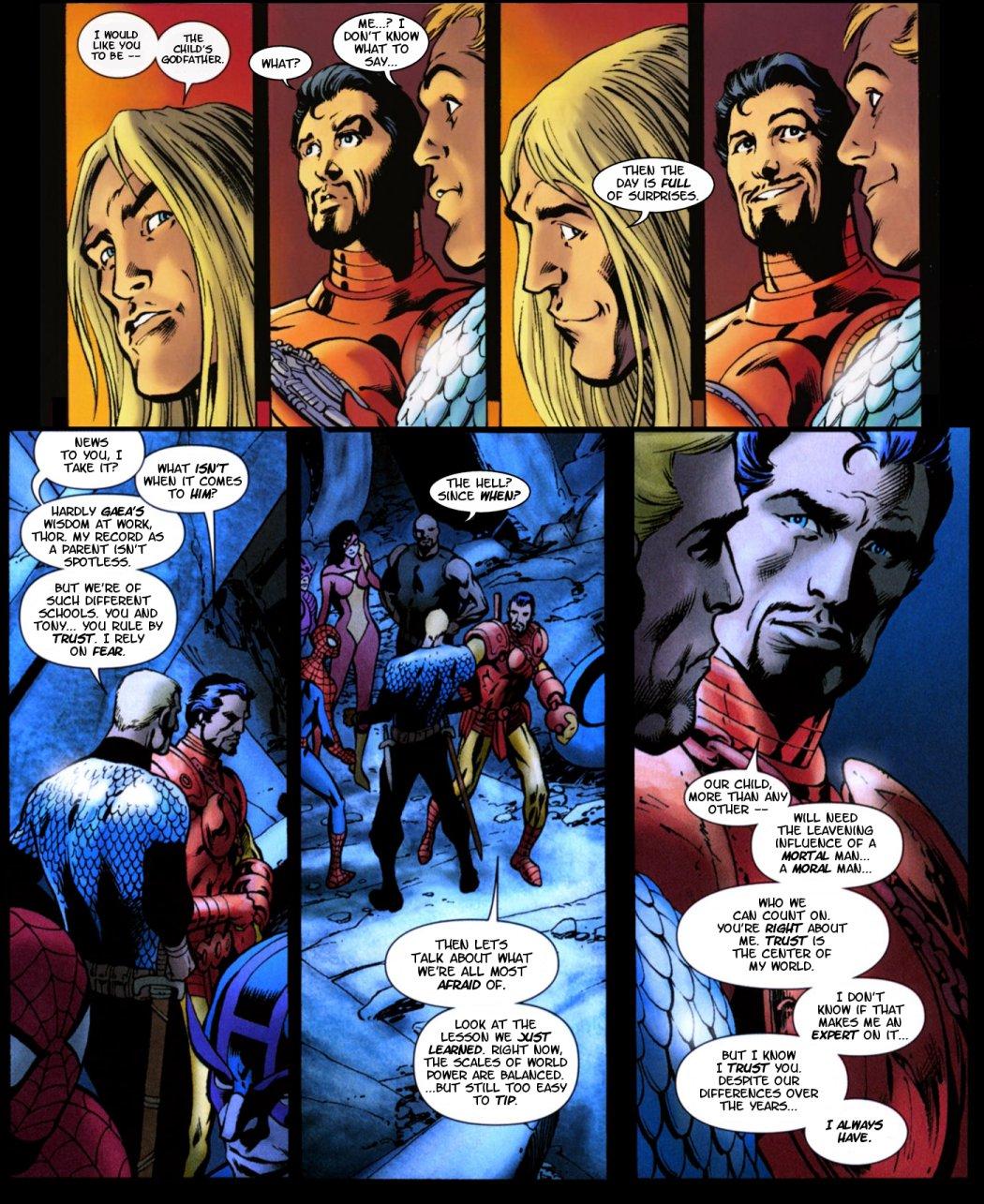 Damian Wayne And Nightstar But still  the ending rang