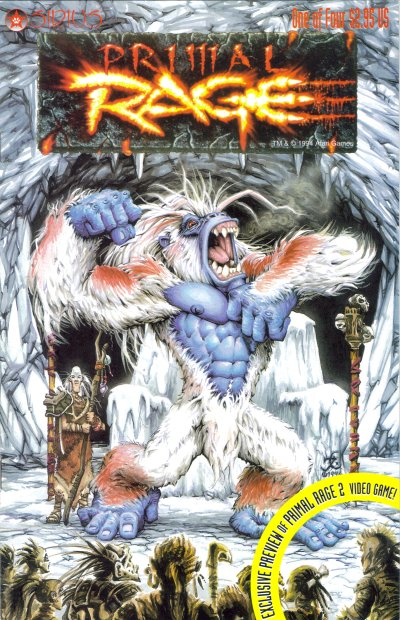 4thletter 187 Blog Archive 187 The Primal Rage Comic It S On